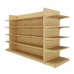 Brown Books Display Rack