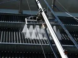 Fin Cleaning System For Coolers