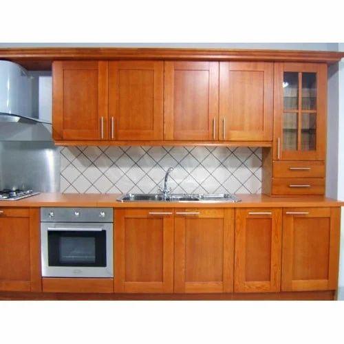 Sannidhi Kitchen Wooden Modular Cabinet Rs 1250 Square Feet Sannidhi Modular Kitchens Id 9563560912