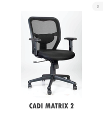 Black Cadi Office Chair
