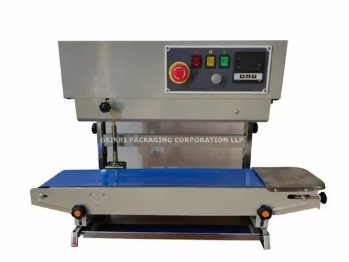 SIKRI Band Sealer With Nitrogen Flushing, Model Number: Bs