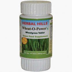 Organic Wheatgrass Wheat-O-Power Tablet - Immunity & Blood Purification