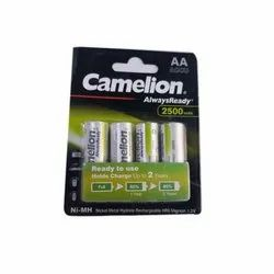 Camelion AA 2500mah Rechargeable Battery