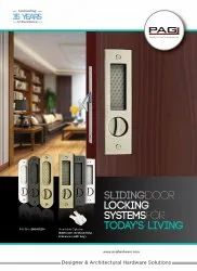 Wooden Sliding Door Concealed Lock