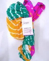 Plain Georgette Leheriya Sarees (Product Id : 106997)