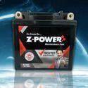 Z-power Motorcycle Acid Lead Battery, Capacity: 2.5 To 12 Ah