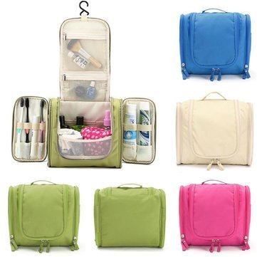 5bf599710cc9 Cosmetic Bag Organizer Bag Large Capacity Hanging Travel Toiletry Kit  Makeup Bag