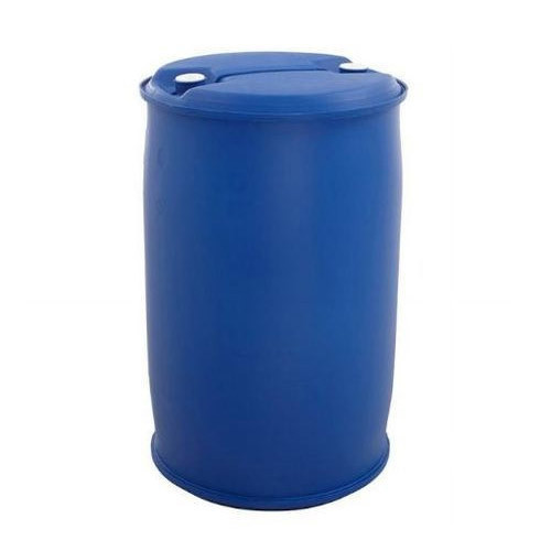 Blue Narrow Mouth HDPE Drum, Capacity: 200-250 litres