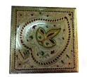 Meenakari Dry Fruit Box, Size: 8x8