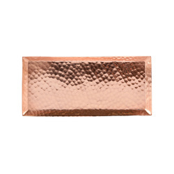 Pure Copper Hammered Tray NJO-2812