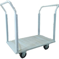 Mild Steel Platform Trolley With 2 Sides Handles