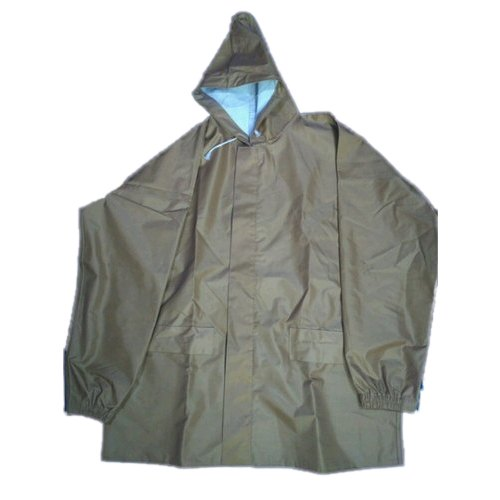 9ecab454d Brown Mens Hypora Button Safari Rain Coat, Rs 450 /piece | ID ...