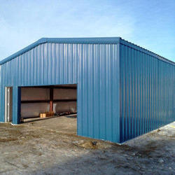 Terrace Blue Roofing Shed