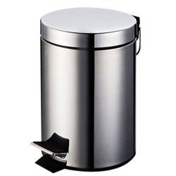 Stainless Steel Food Pedal Dustbin