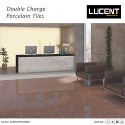 Dark Double Charge Vitrified Tiles