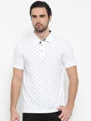 White Polo Type T-Shirts