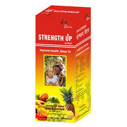 Strength UP Syrup, Packaging Type: Bottle, Packaging Size: 100ml,200ml