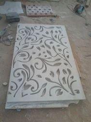 White Marble Jaali