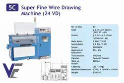 Super Fine Wire Drawing Machine 24VD