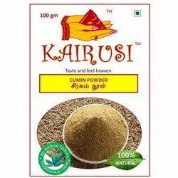 Kairusi Cumin Powder, Packaging Type: Packet, Packaging Size: 100g