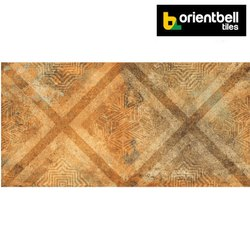 Orientbell DGVT NUBIAN BROWN Highlighter Floor Tiles