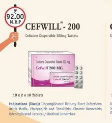 Cefixim Dispersible Tablet