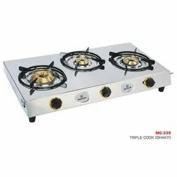 MC-339 Three Burner Stove