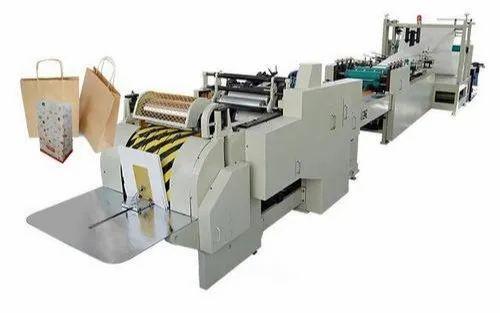 Biodegradable Paper Bags Making Machine