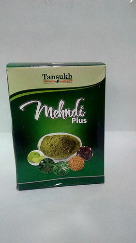 Colour Tansukh Mehandi Plus, Packaging Size: Plastic Pack, for Personal