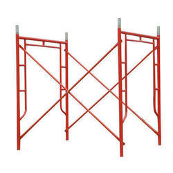 Red H Frame Scaffolding
