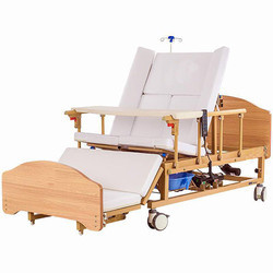 Commode Electric/Manual Homecare Hospital Bed