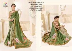Rachna Art Silk Patch C-Buri Silk Catalog Saree For Women 5