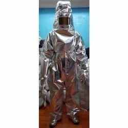 Aluminised Fire Proximity Suit