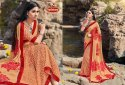 Georgette Printed Daimond work Saree with Lace - PICNIC 05