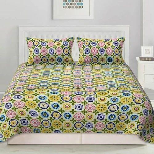 be74f4e849c Pure Cotton Multicolor Bedcolors Cotton Bedsheet