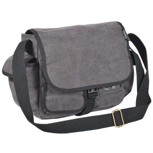 0b17b42fd1b6 Unisex Grey School Side Bag
