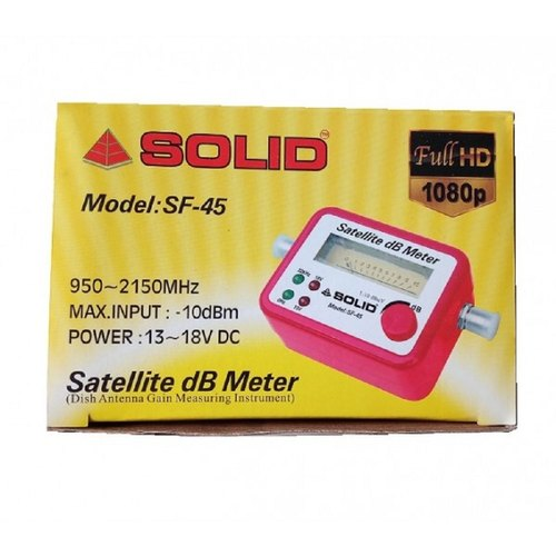 Solid Analogue Sf 45 Satellite Finder Db Meter