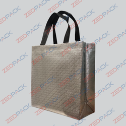 Embossed Non Woven Loop Handle Bag