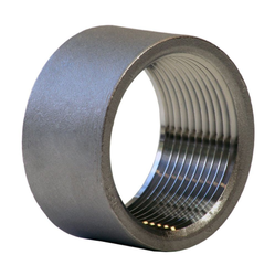 UFI Alloy Steel Threaded Half Coupling, Application:Automobile Industry and Pharmaceutical / Chemical