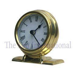 Decorative tabletop Brass Clock