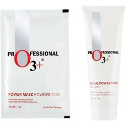 O3  Power Mask Gel 2080 (120 gm) Powder Mask 2080 (30 gm)