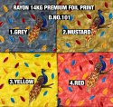Premium Rayon Foil Print Fabric