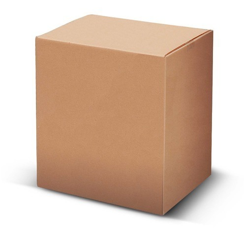 Brown Plain Packaging Box