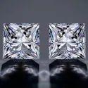 Princess Cut DEF Moissanite Diamond