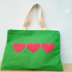 Designer Green Handbag