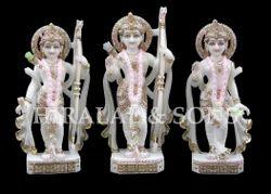 Polished Ram Darbar Statue