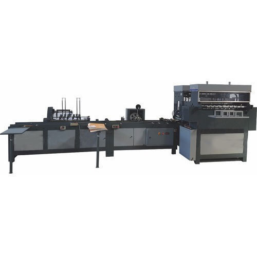 Automatic Notebook Binding Machine, Max Notebook Thickness: 320 Pages, Production Capacity: 2000 - 2500 Pages Per Hour