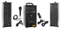 80 Watts Portable System With Usb, Bluetooth, Echo, Recording & 2 External Speaker