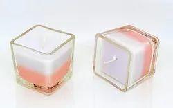 Square Glass Votive Candles