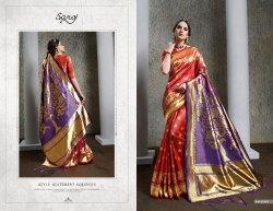 Stylish  black Fancy Desginer  Saree